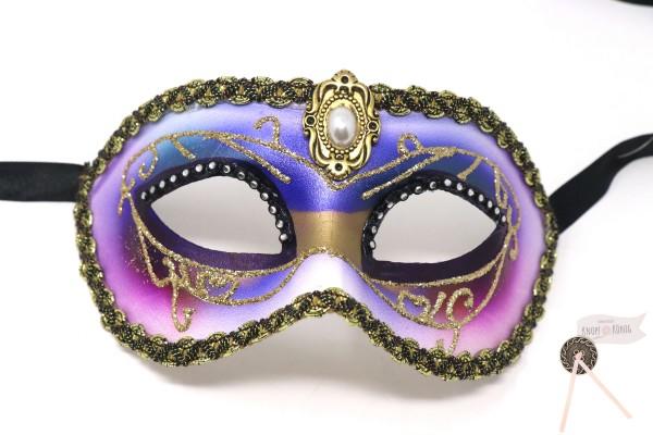 echte venezianische Maske, Violetta