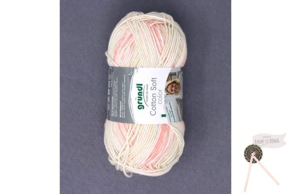 Cotton Soft color, beige-rose-hellgrau