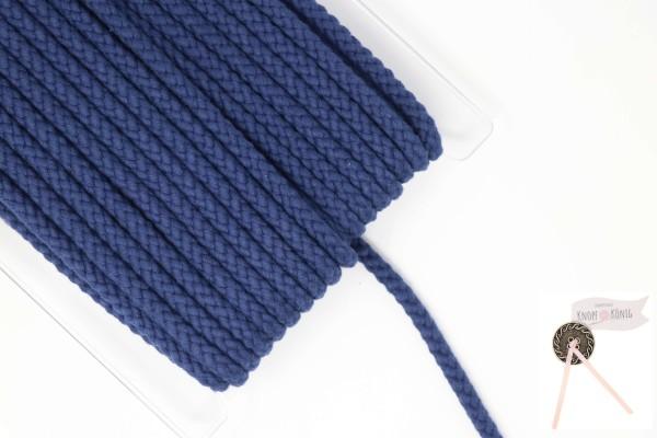 Flechtkordel blau, 10mm