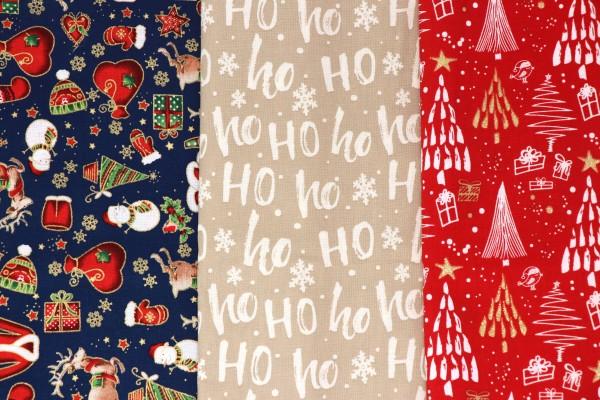 Mund-Nasen-Maske Weihnachten