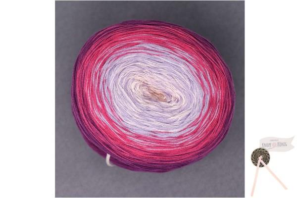 Bobbel Cotton 200g, lila-flieder