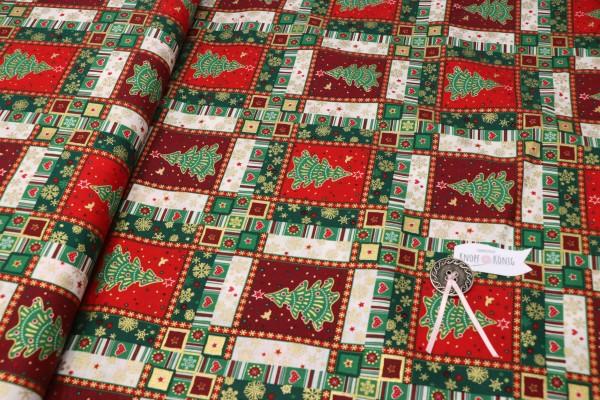 Weihnachtsmotiv Patchwork