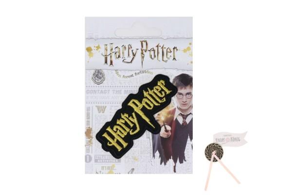 Applikation Harry Potter Logo, zum Aufbügeln, 2x7cm