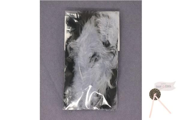 Marabufedern-Mix 10cm, schwarz