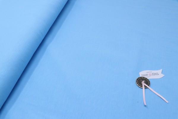 Baumwoll-Jersey hellblau