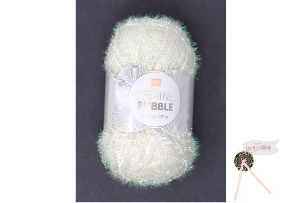 Bubble Creativ, weiß irisierend