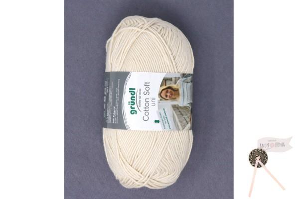 Cotton Soft uni creme