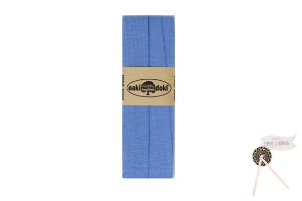 Jersey-Schrägband eisblau, 3m