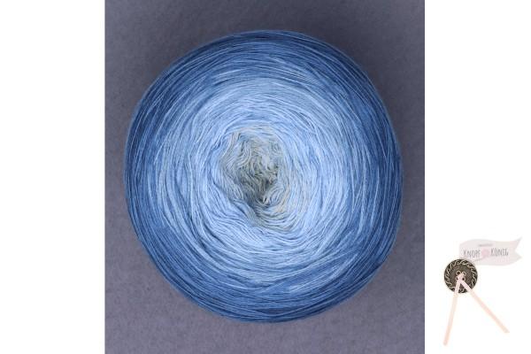 Bobbel Cotton XXL, blau