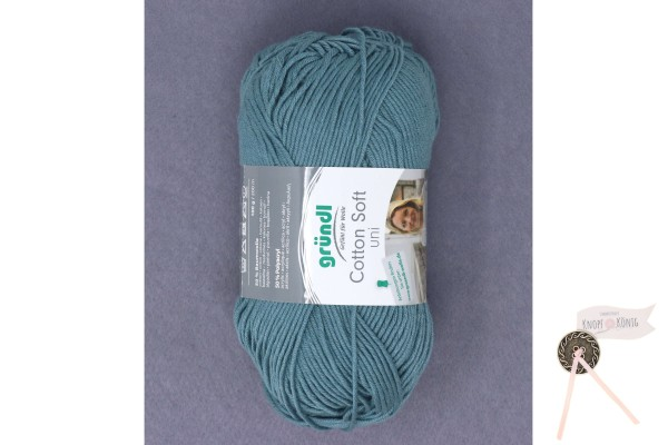 Cotton Soft uni petrol