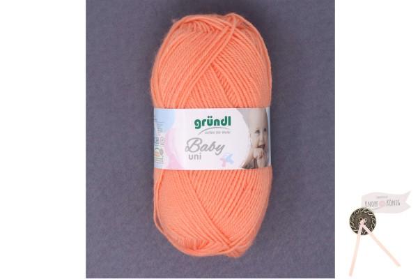 Babywolle orange