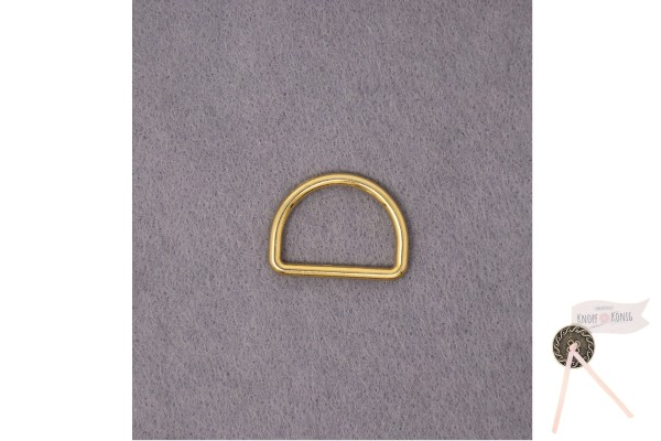 D-Ring gold, in sechs Größen
