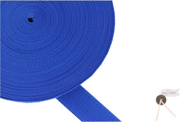 Gurtband Nylon blitzblau, 30mm