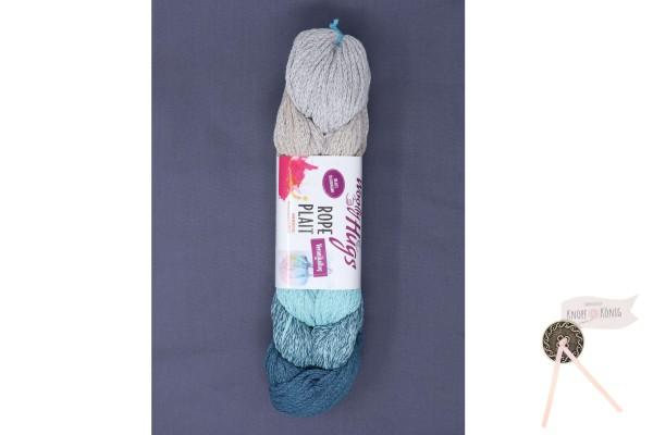 Woolly Hugs, Rope Plait türkis
