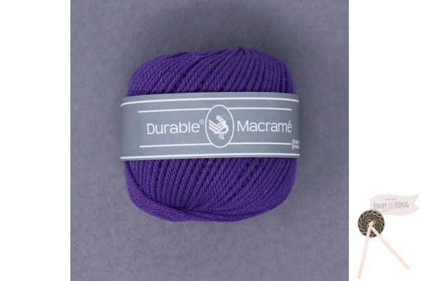 Makramee, violett