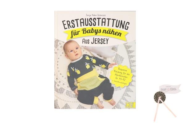 Buch: Erstausstattung für Babys nähen aus Jersey