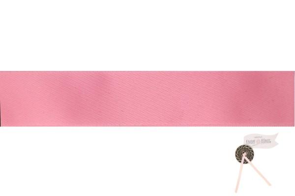 Satinband doppelseitig rosa, verschiedene Breiten