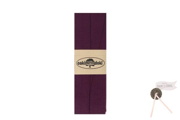 Jersey-Schrägband lila, 3m