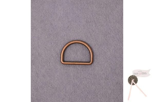 D-Ring kupfer, in sechs Größen