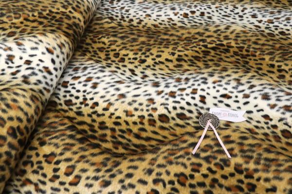 Kunstfell, Leopard braun