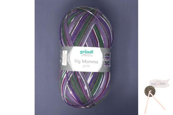 Big Mamma print, violett-grün
