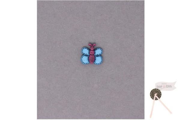 Kinderknopf Schmetterling, 18mm