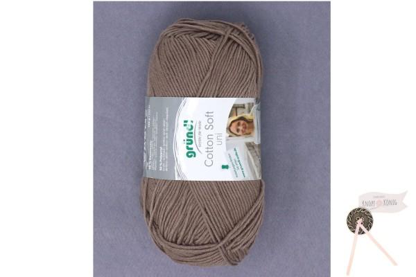 Cotton Soft uni asche