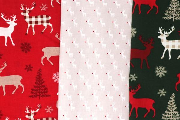 Mund-Nasen-Maske Weihnachten Rentiere