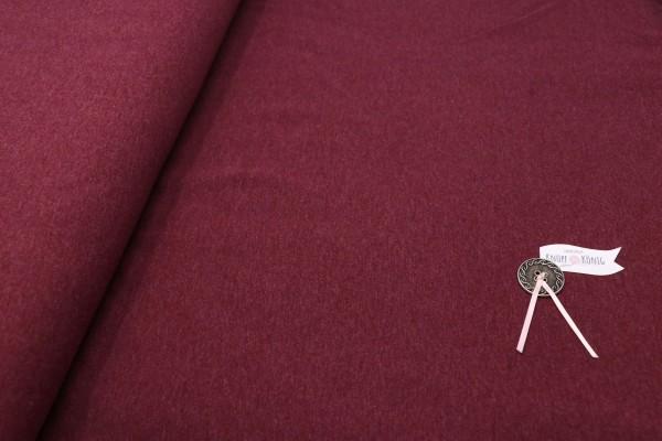 Baumwoll-Jersey rot meliert