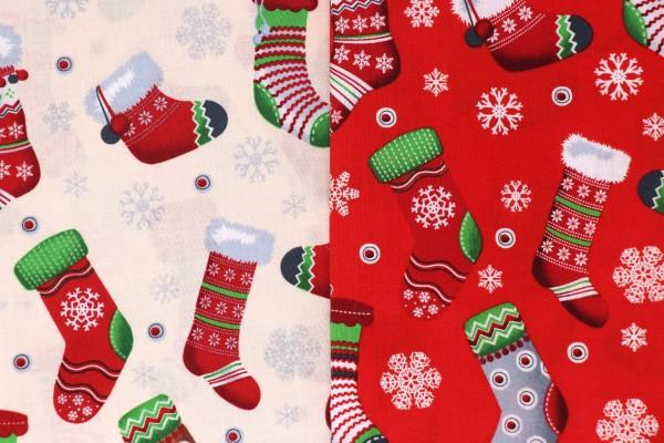 Mund-Nasen-Maske Weihnachtsstrümpfe