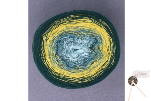 Rosella, grün-gelb-blau