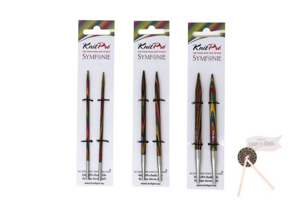 KnitPro auswechselbare Stricknadelspitzen, Stärken 3 bis 15