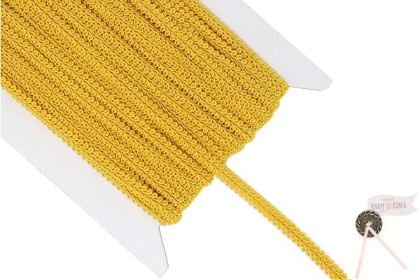 Borte Crepine gelb, 9mm