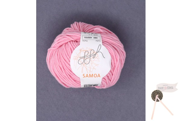 Samoa uni, rosa