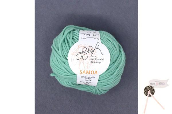 Samoa uni, mint mittel