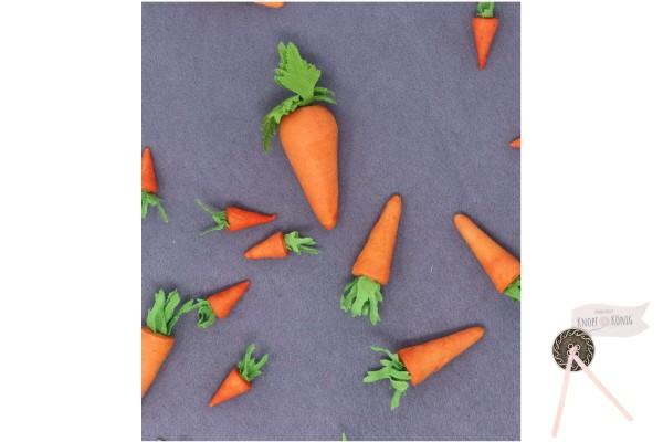 Karotten aus Watte