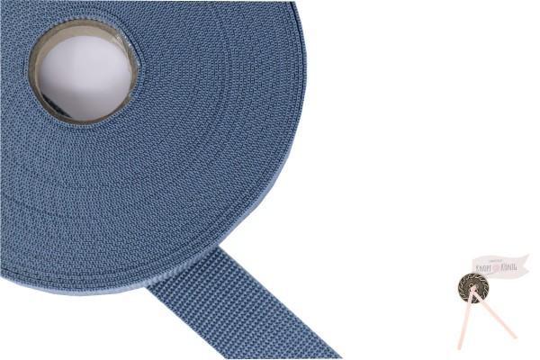Gurtband Nylon grau, 30mm
