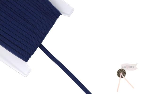 Flachkordel dunkelblau, 10mm