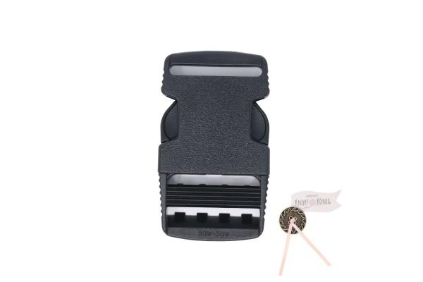 Steckschnalle 50mm schwarz