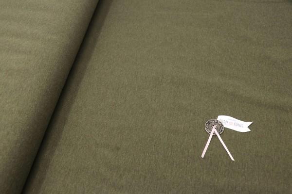 Sweat Shirt uni olivgrün
