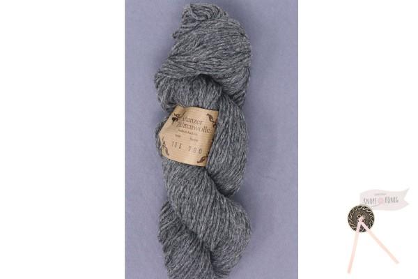Schanzer Trachtenwolle, steingrau