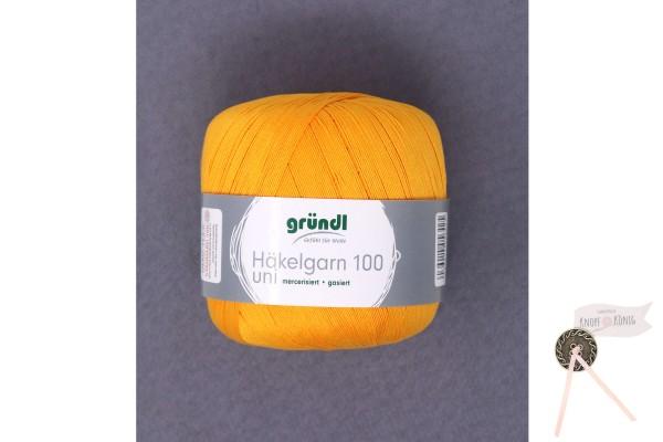 Häkelgarn 100 uni, orange