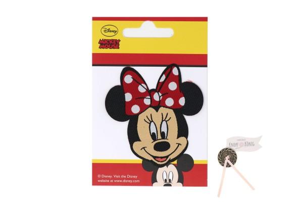 Applikation Minnie-Mouse-Kopf, 7cm