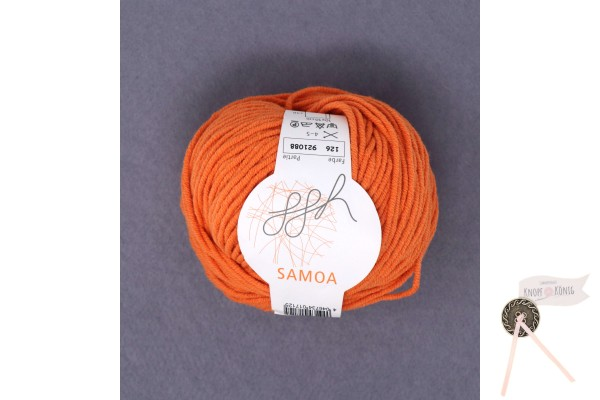 Samoa uni, orange