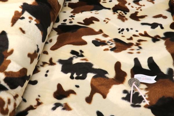 Kunstfell, Kuh braun