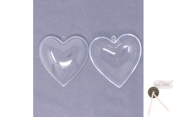 Plexiglas-Herz, zweiteilig