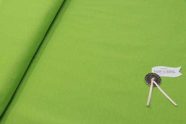 Baumwoll-Jersey hellgrün