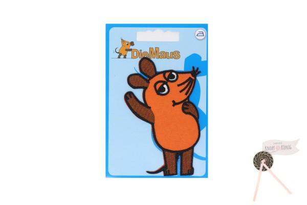 Applikation Sendung mit der Maus, Maus 5x8cm