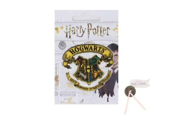 Applikation Hogwarts, zum Aufbügeln, 6cm