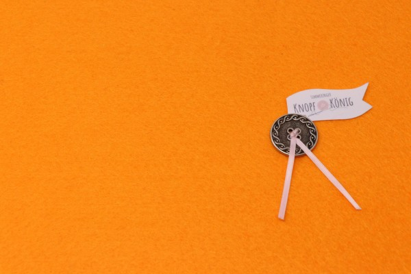 Bastelfilz-Platten 3mm hellorange, 30cmx45cm